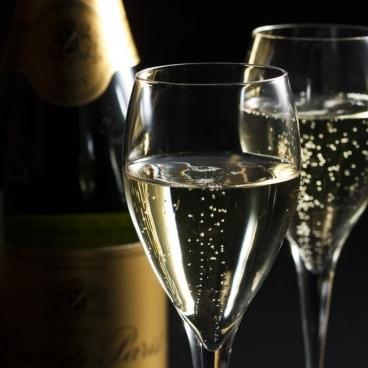 シャンパンもお楽しみいただけます。