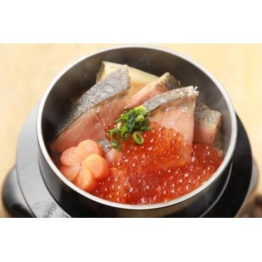 鮭とイクラ親子釜飯★