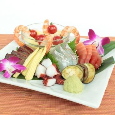 海の幸と&旬野菜の盛りあわせ