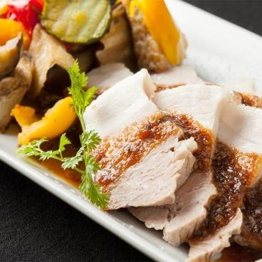 豚肉とカラフル野菜のロースト~ジンジャーソース~