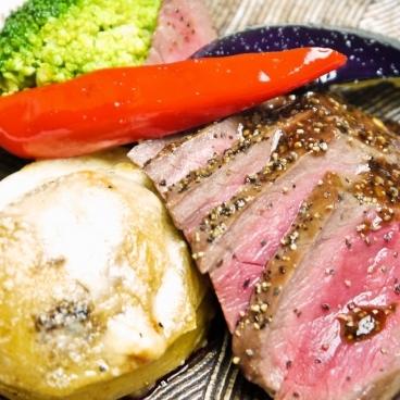 特選近江牛イチボのステーキ