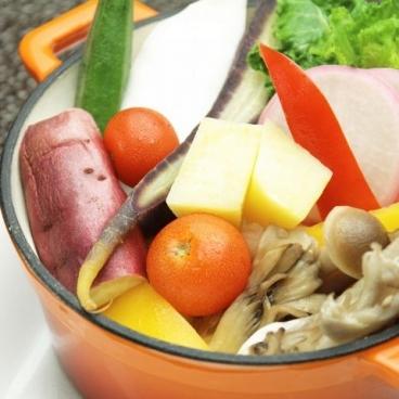 みやざき感動市場の蒸し野菜!玉葱とバルサミコのドレッシングで