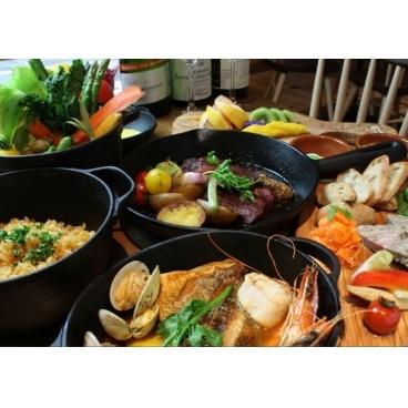 鉄鍋キッチン ロティット