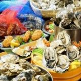 海鮮 まぐろと牡蠣 ひといき 難波店